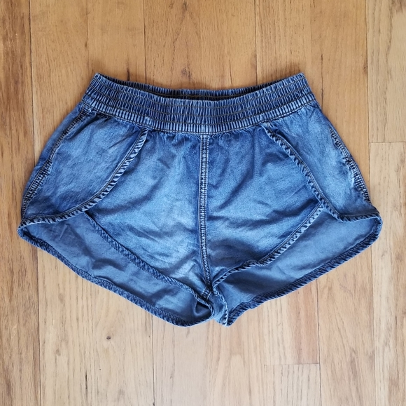 FOREVER 21 GREAT COND HI WAIST MOM JEAN 80S SHORTS